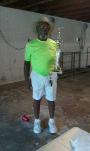 Sickle Cell Anemia golf tourney 2nd place